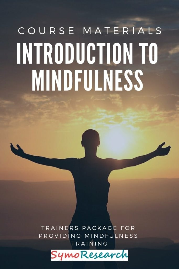 Introduction to Mindfulness course materials for trainers.