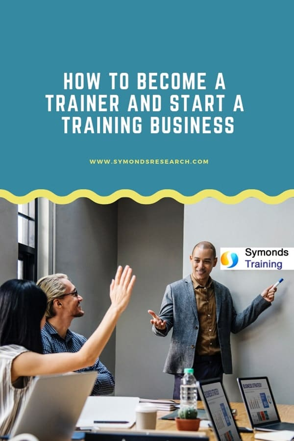 How to become a trainer and start your own business