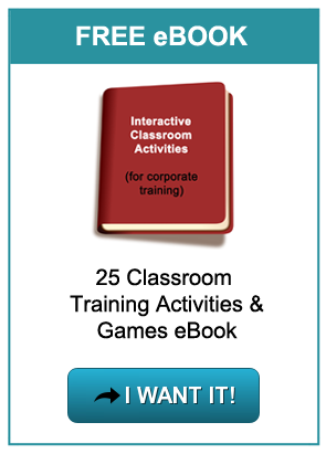 Free eBook with 25 classroom activities for trainers