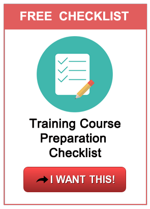 Free training course checklist PDF