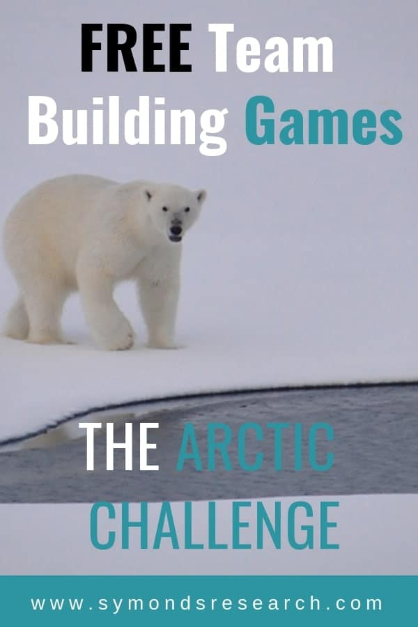 Very popular free training team building activity with the Arctic challenge.