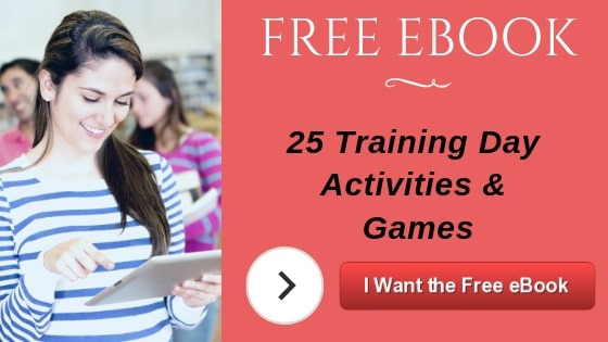 Free book with 25 ice breaker activities for corporate trainers.