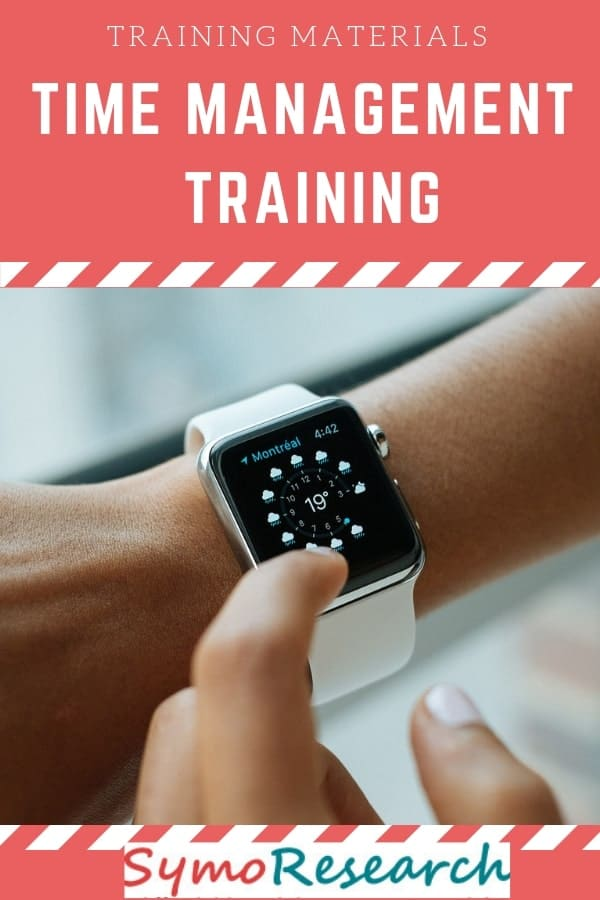 Time Management training course for corporate trainers.