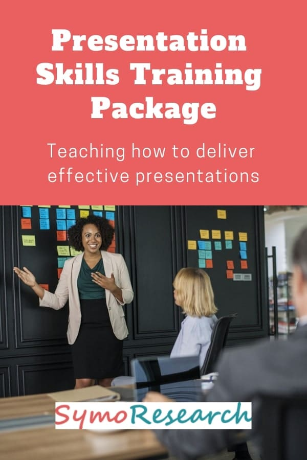 Presentation skills training package