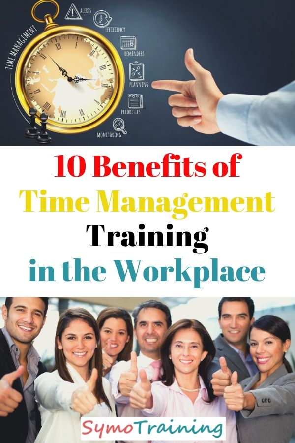 The benefits of time management training in a corporate environment