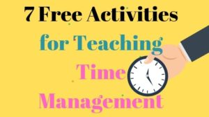 Free activities for time management courses