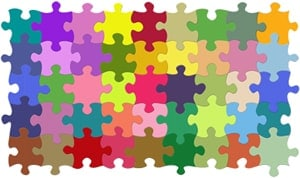 Teams puzzle activity for the classroom