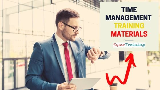 Time management training materials pckage for trainers