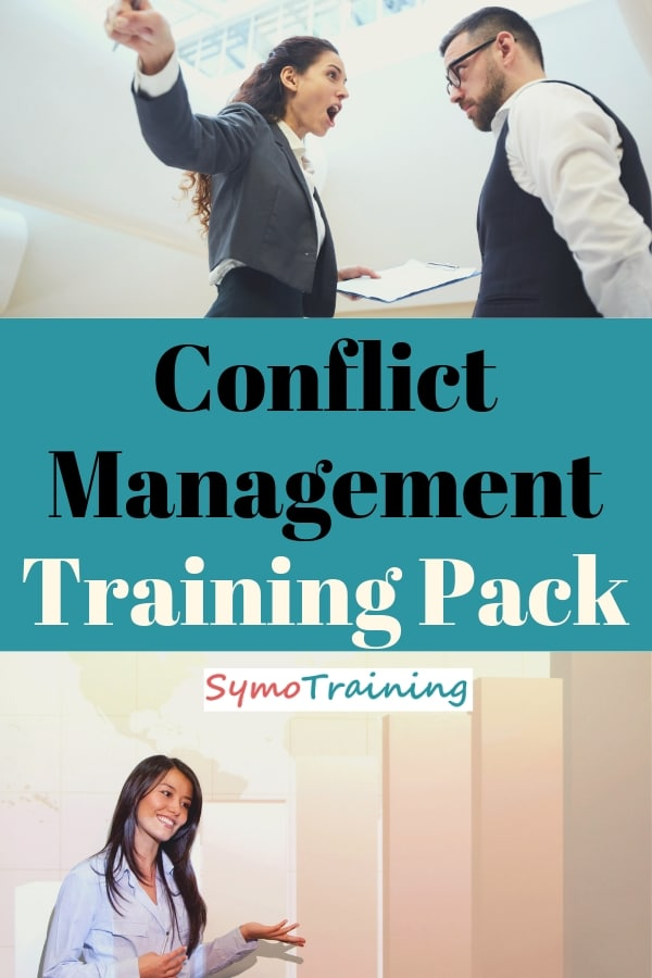 Conflict management training materials package