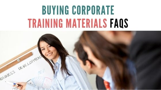 FAQs for buying training course materials