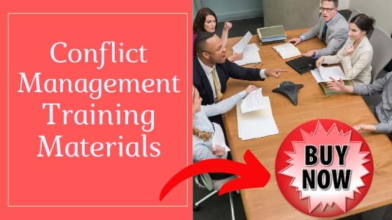 Conflict management training materials to buy including PDFs