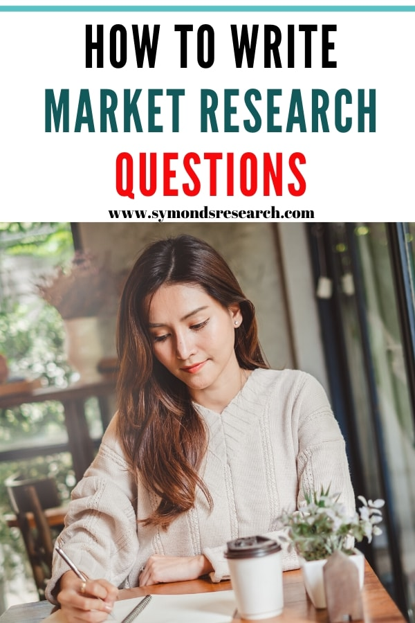 Writing market research questions