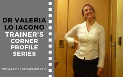 Dr Valeria Lo Iacono – Trainer Profiles Series