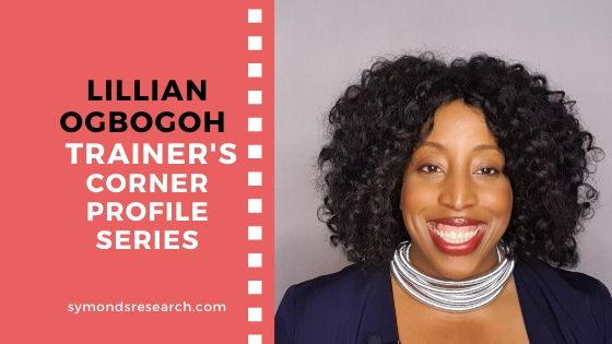 Lillian Ogbogoh the corporate trainer we interviewed.
