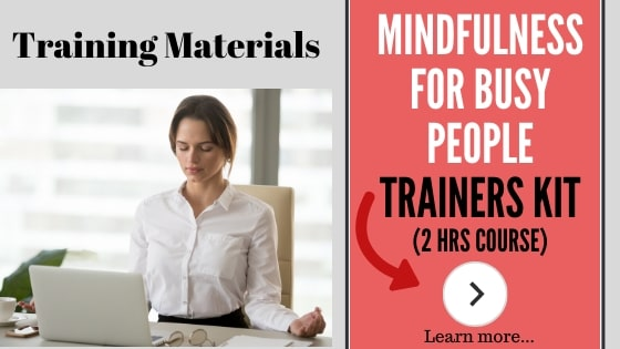 Short Course for the 2 hour mindfulness trainers package