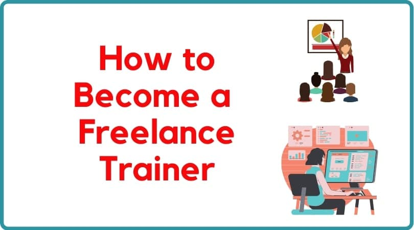 Work as a freelance trainer a s anew job self-employed