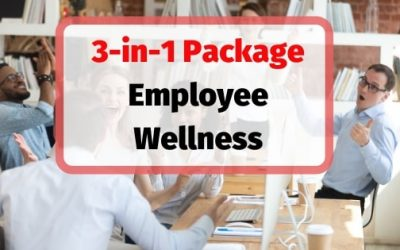 Workplace Wellness 3-in-1 Training Course Materials  Package