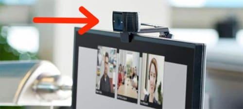External clip-on webcam for teachers