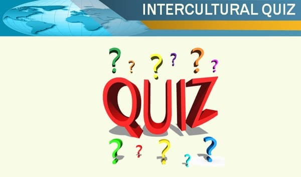 Intercultural Communication Quiz Training Activity and Game