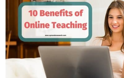 10 Benefits of Online Teaching as a Teacher, Tutor or Trainer