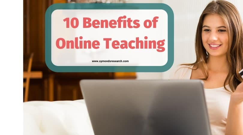 Benefits of online teaching banner