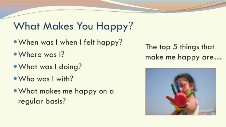 Happiness workshop