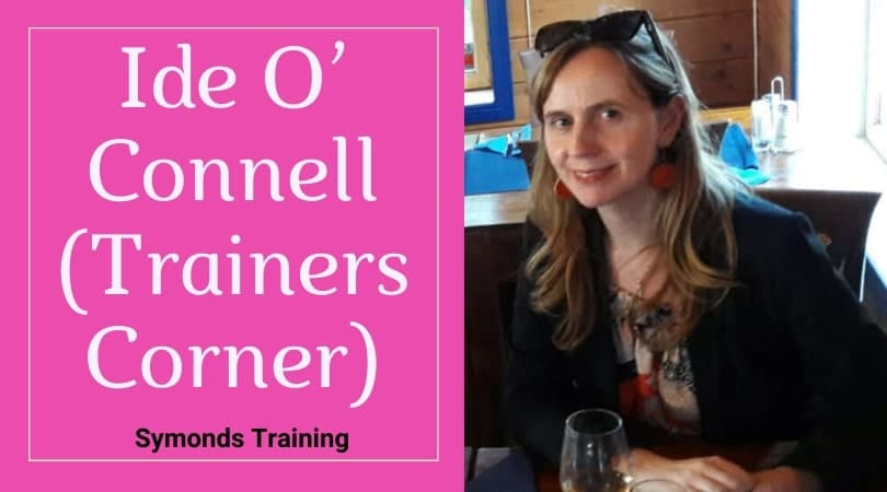 Ide O'Connell the corporate trainer in Korea