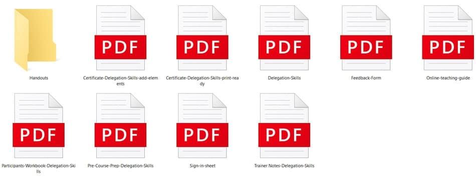 Teaching PDFs