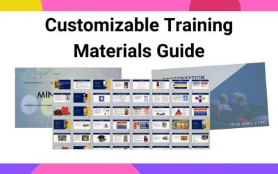 Customizable Training Materials for Trainers