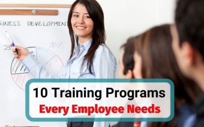 10 Corporate Training Programs Every Employee and Manager Should Be Provided with