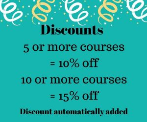 Training programs discounts and sale