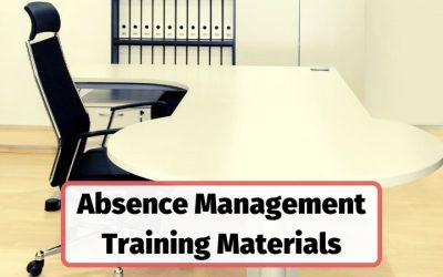 Absence Management Training Course Materials