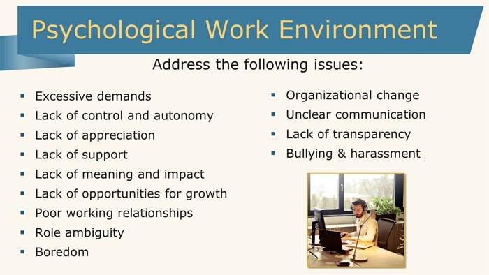 Psychological Work Environment