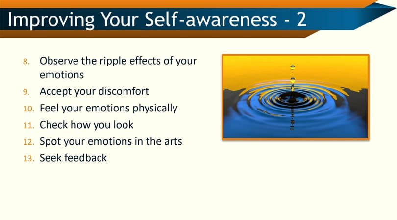 Improving self-awareness skills in the workplace