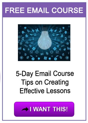 5-day email course on lesson planning