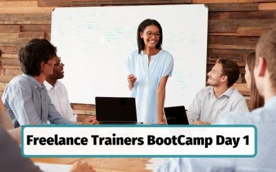 Day 1 Freelance Trainers BootCamp – The Motivation Challenge: How to Inspire Adult Learners