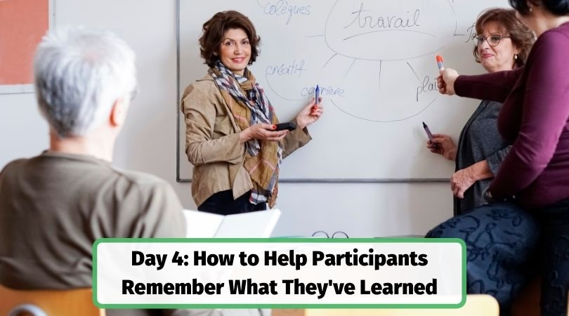 Help adult learners remember what they've learned