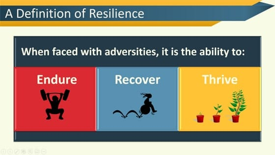 Resilience training PPT Slide