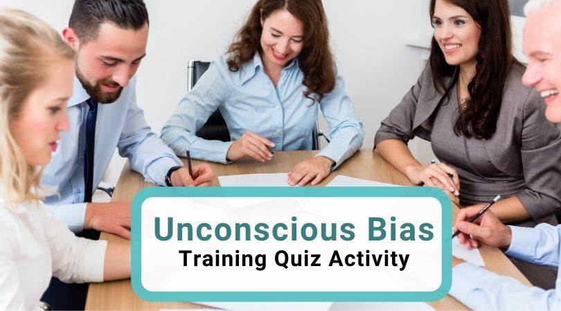 Unconscious bias training quiz activity