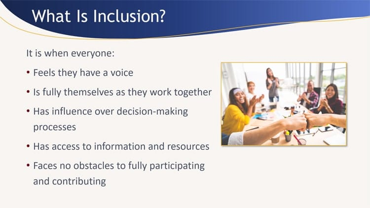 What is inclusion image