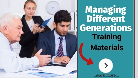 Managing different generations at work training course materials