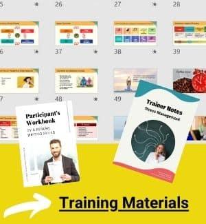 Training materials examples