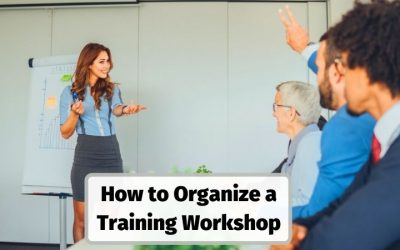 How To Organise a Training Workshop or Course as a Freelance or Corporate Trainer