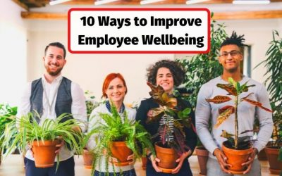 10 Ways to Improve Employee Wellbeing, Wellness, Happiness and Engagement