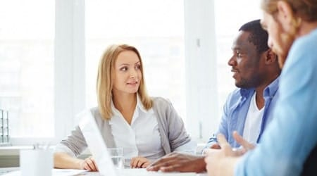 Talking to and engaging employees at work